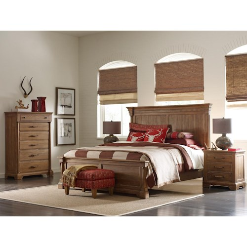 Kincaid Furniture Stone Ridge King Bedroom Group