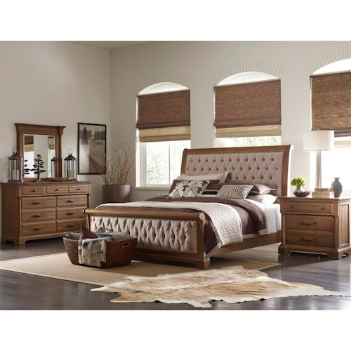 Kincaid Furniture Stone Ridge California King Bedroom Group