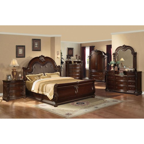 Acme Furniture Anondale Queen Bedroom Group