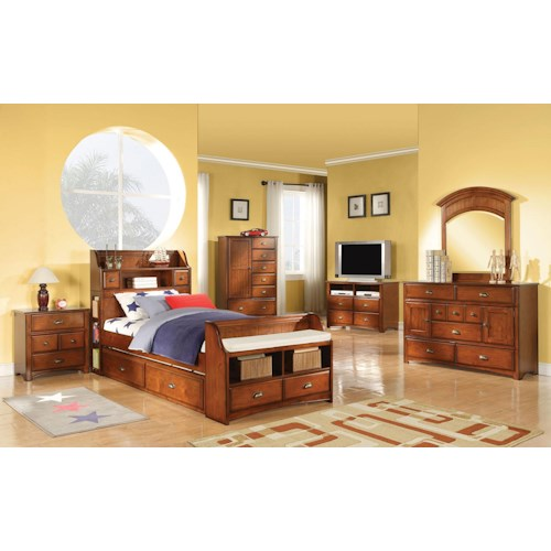Acme Furniture Brandon Twin Bedroom Group