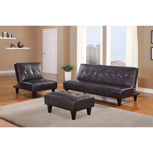 Acme Furniture Conrad Stationary Living Room Group