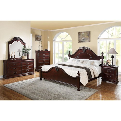 Acme Furniture Gwyneth California King Bedroom Group
