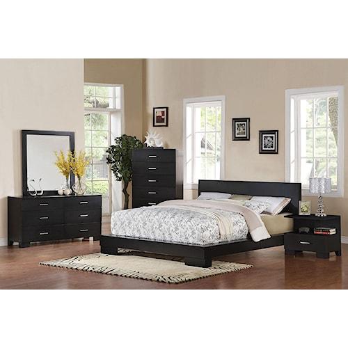 Acme Furniture London Platform Queen Bedroom Group