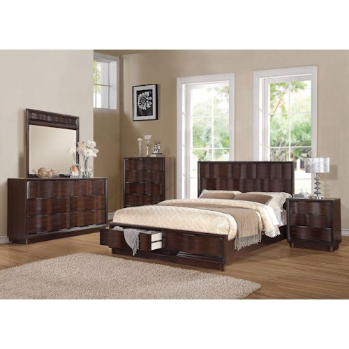 Acme Furniture Travell California King Bedroom Group