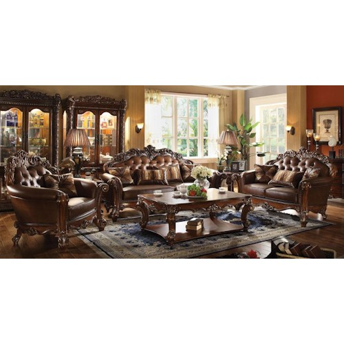 Acme Furniture Vendome Stationary Living Room Group