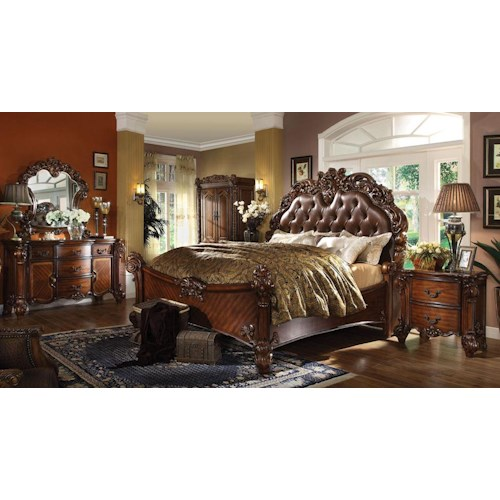Acme Furniture Vendome King Bedroom Group