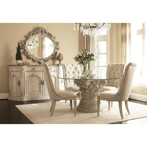 American Drew Jessica McClintock Home - The Boutique Collection Formal Dining Room Group
