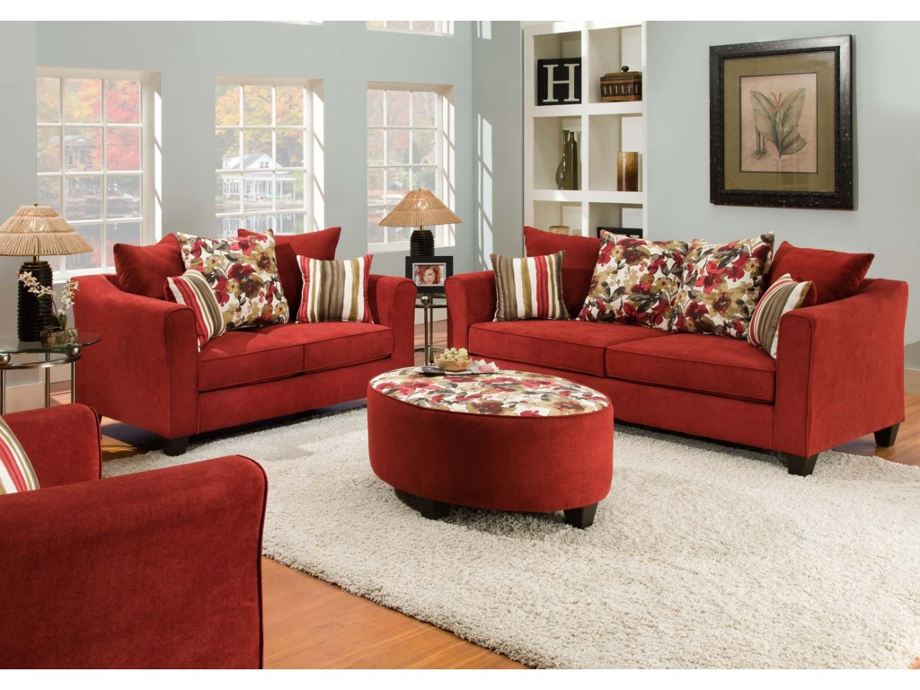 american furniture stationary living room group miskell