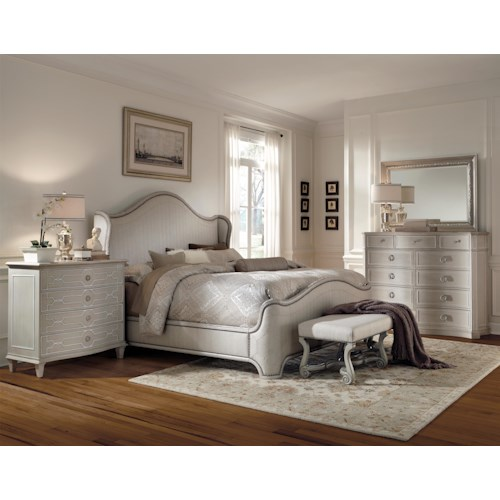 A.R.T. Furniture Inc Chateaux Queen Bedroom Group