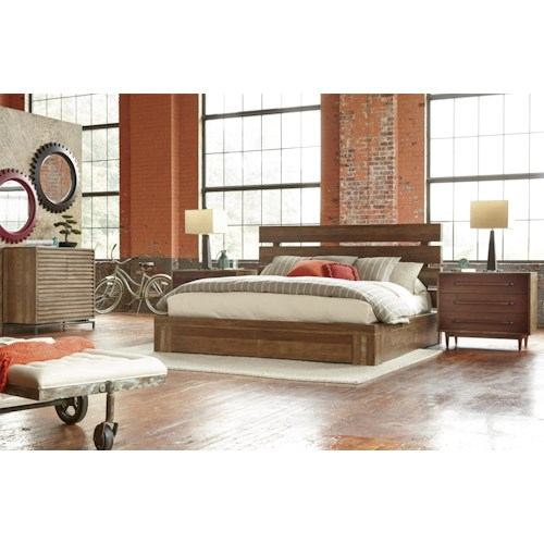 Belfort Signature Urban Treasures King Bedroom Group