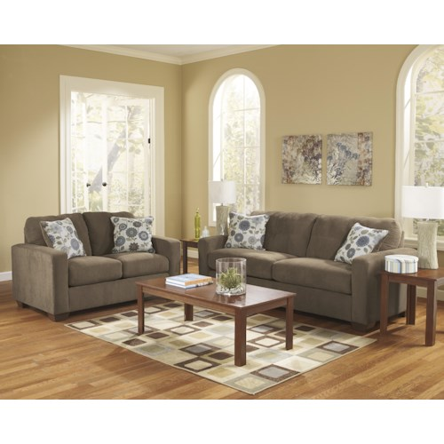 Ashley Furniture Kreeli - Toffee Stationary Living Room Group