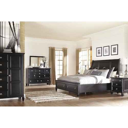 Millennium Greensburg Queen Bedroom Group