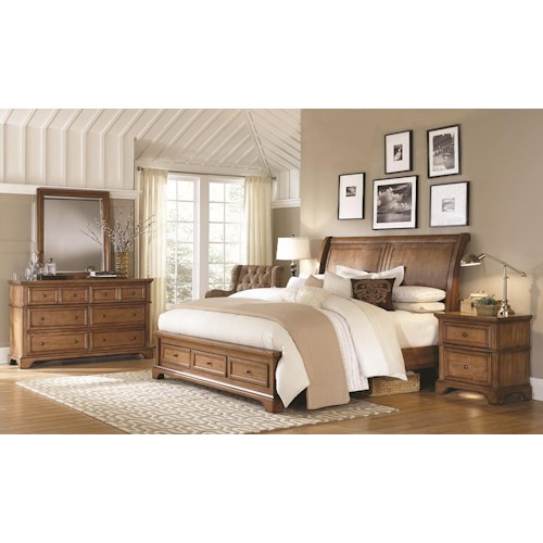 Morris Home Furnishings Walnut Creek Queen Bedroom Group 1