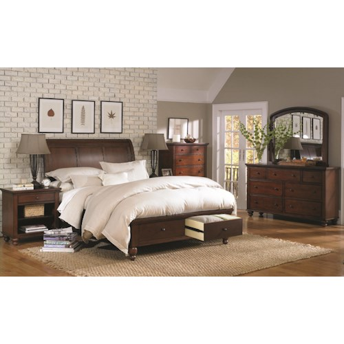 Aspenhome Cambridge Queen Bedroom Group