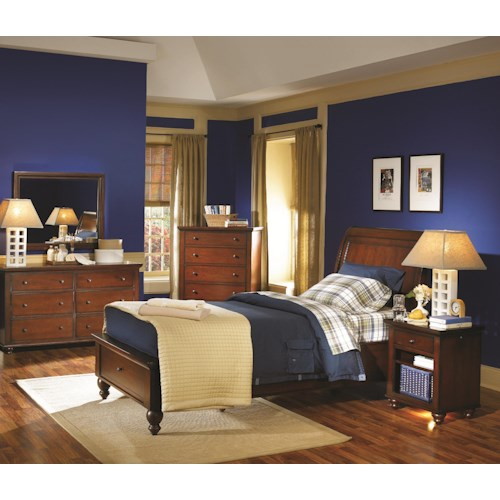 Aspenhome Cambridge King Bedroom Group