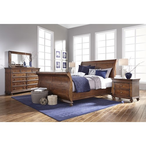 Aspenhome Camden California King Bedroom Group