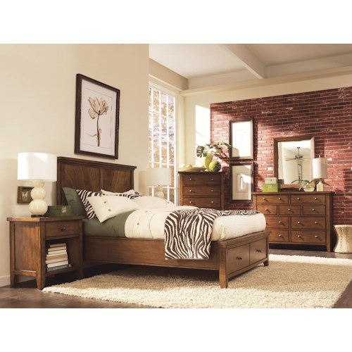 Morris Home Furnishings Cross Country California King Bedroom Group