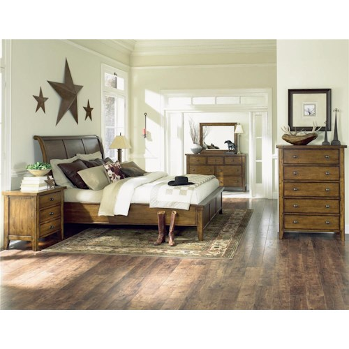Aspenhome Cross Country King Bedroom Group