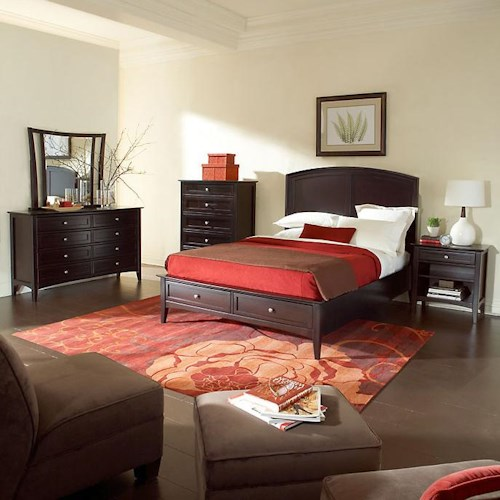 Morris Home Furnishings Kensington  King Bedroom Group