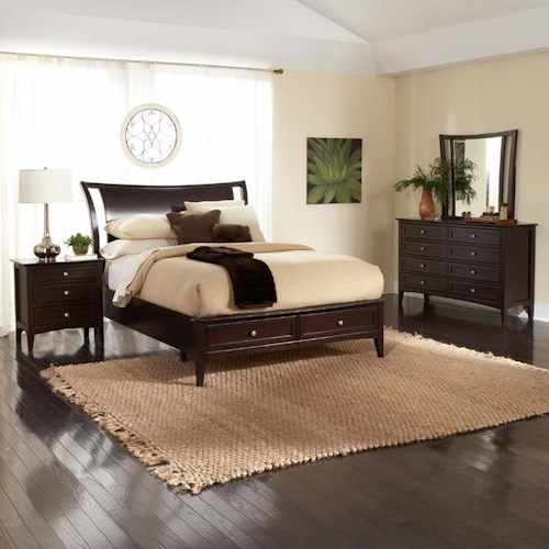 Morris Home Furnishings Kensington  Queen Bedroom Group