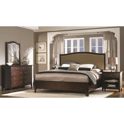 Morris Home Furnishings Lincoln Park California King Bedroom Group