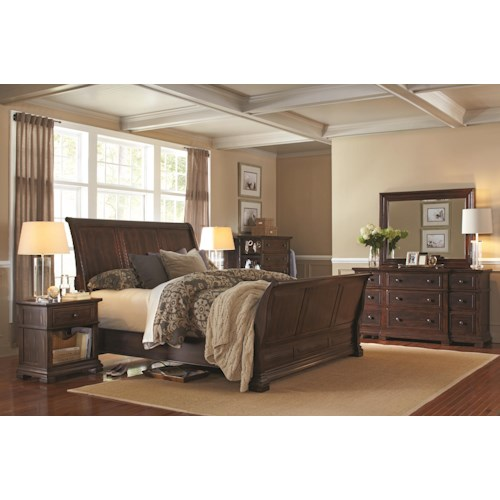 Aspenhome Westbrooke California King Bedroom Group