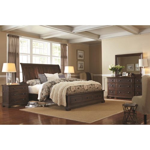 Morris Home Furnishings Westbrooke King Bedroom Group