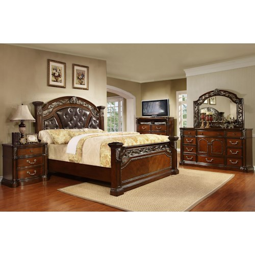 Queen Bedroom Group Vistoso By Avalon Furniture Wilcox Furniture Bedroom Group Corpus