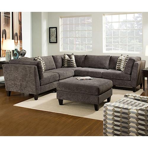 Bauhaus McGraw Contemporary Stationary Living Room Group