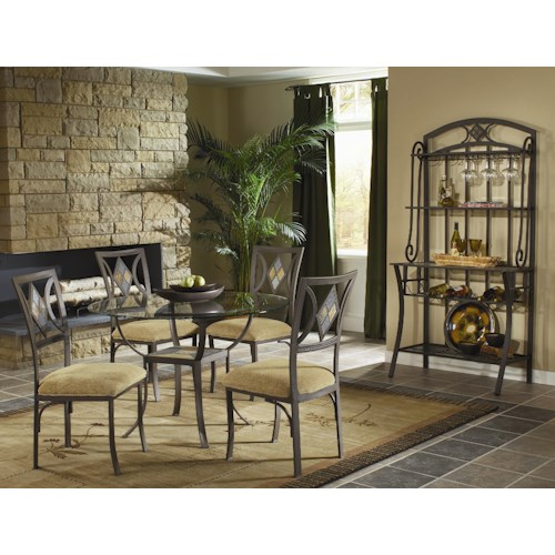 Morris Home Furnishings Bradford Casual Dining Room Group