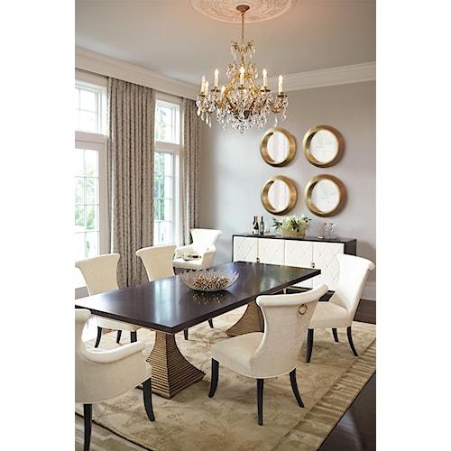 Bernhardt Jet Set Formal Dining Room Group