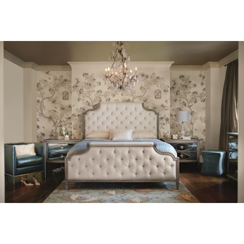 Bernhardt Marquesa Queen Bedroom Group