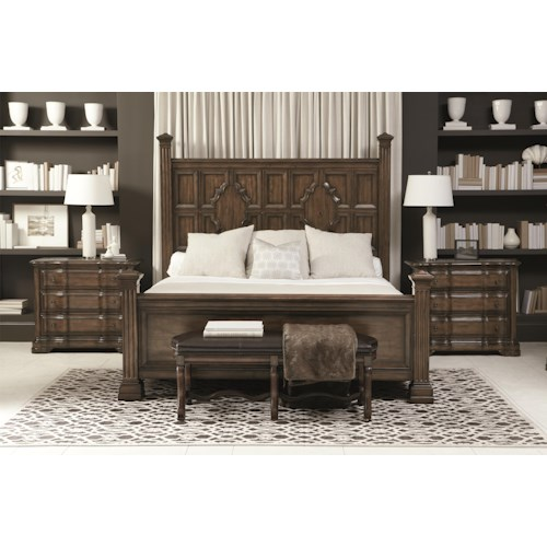 Bernhardt Montebella King Bedroom Group