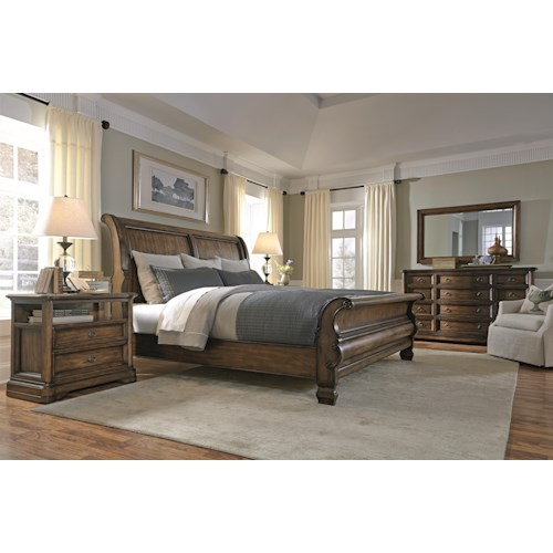 Bernhardt Montebella Queen Bedroom Group