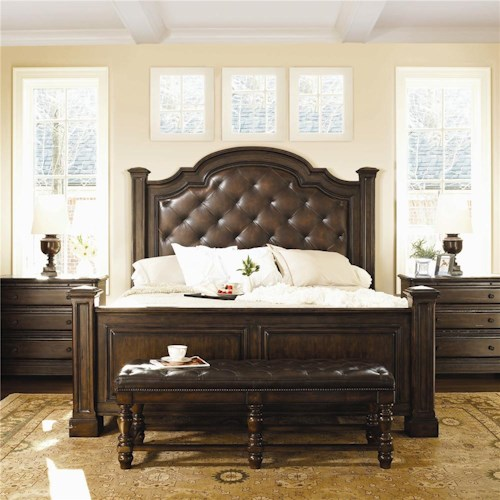 Bernhardt Normandie Manor King Bedroom Group