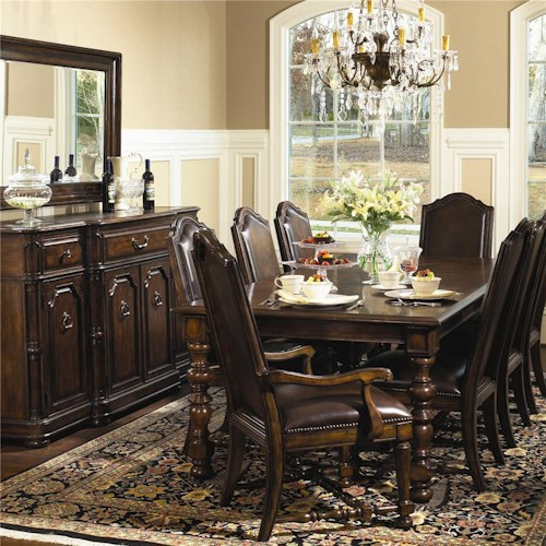 Bernhardt Normandie Manor Formal Dining Room Group