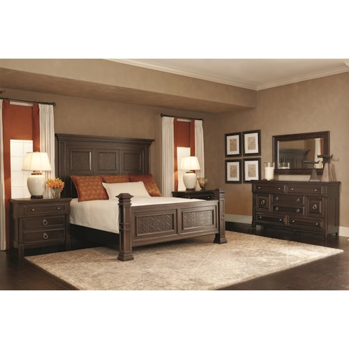 Bernhardt Pacific Canyon California King Bedroom Group 2