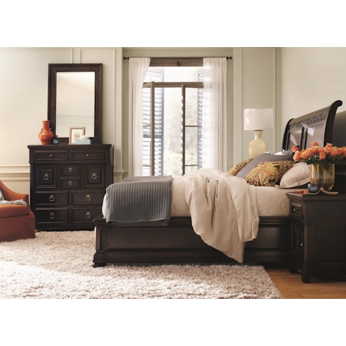 Bernhardt Pacific Canyon King Bedroom Group 3