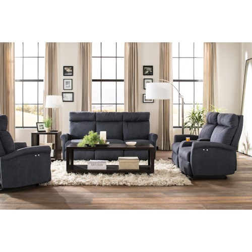 Morris Home Furnishings Codie Reclining Living Room Group