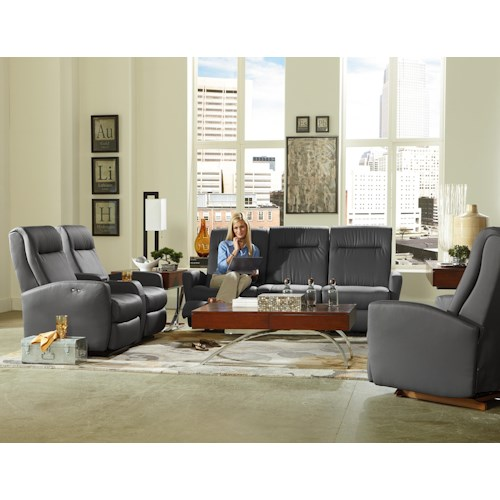 Morris Home Furnishings Costilla Reclining Living Room Group