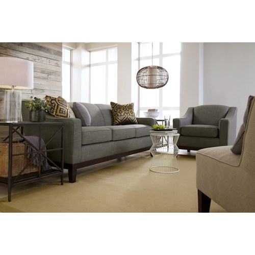 Best Home Furnishings Emeline Stationary Living Room Group