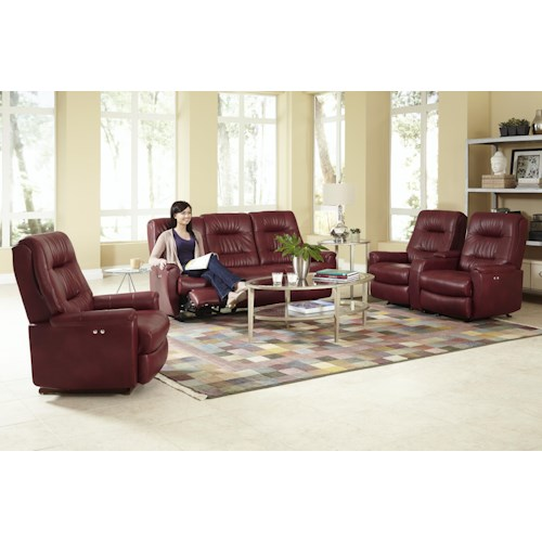 Morris Home Furnishings Felicia  Reclining Living Room Group