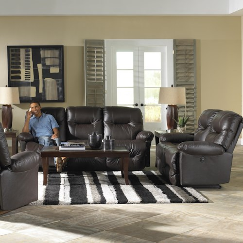 Best Home Furnishings S501 Zaynah Reclining Living Room Group