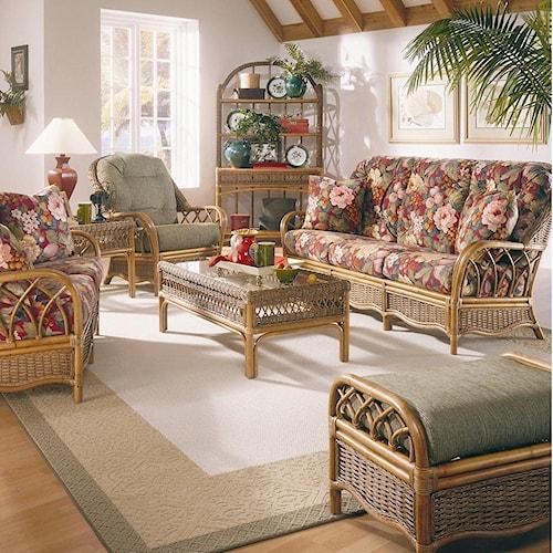 Vendor 10 Everglade Stationary Living Room Group