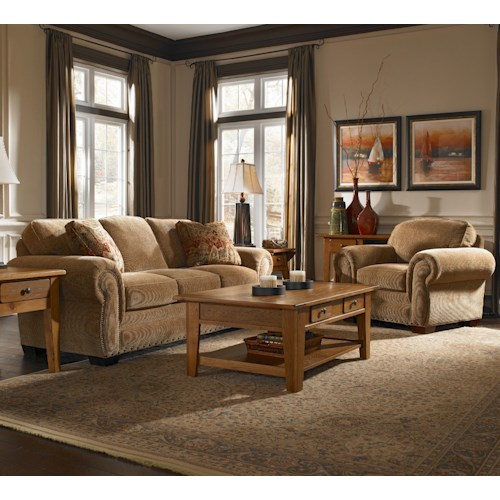 Broyhill Express Cambridge Stationary Living Room Group