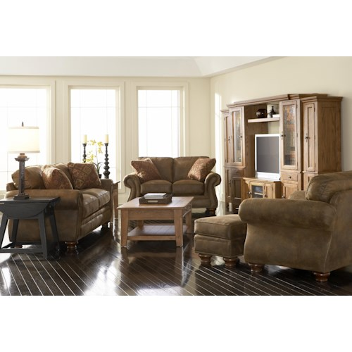 Broyhill Express Laramie Stationary Living Room Group