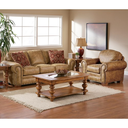 Broyhill Furniture Cambridge Stationary Living Room Group