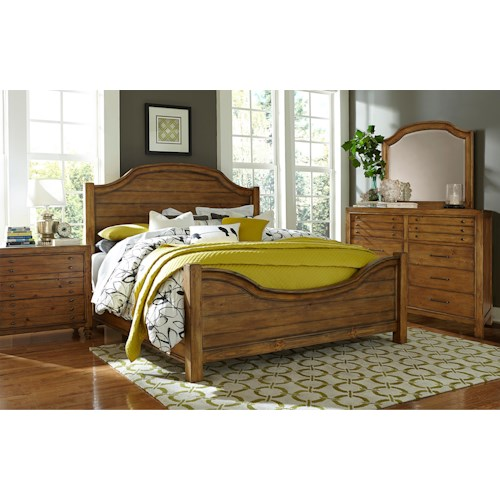 Broyhill Furniture Bethany Square King Bedroom Group