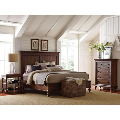 Broyhill Furniture Cascade King Bedroom Group