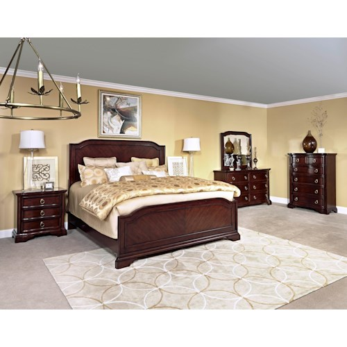 Broyhill Furniture Elaina King Bedroom Group